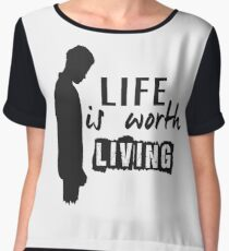 Life Is Worth A Living // Purpose Pack // Women's Chiffon Top