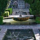 The gardens of Generalife by Mark Prior