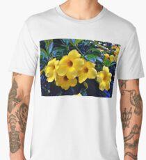 Beautiful Allamandas  Men's Premium T-Shirt