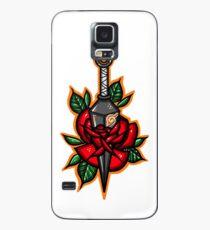 Naruto Konoha Kunai Through Rose Case/Skin for Samsung Galaxy