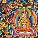 Beautiful art at Gangtey Gonpa  by Mark Prior