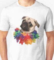 Tropical pug 2 T-Shirt