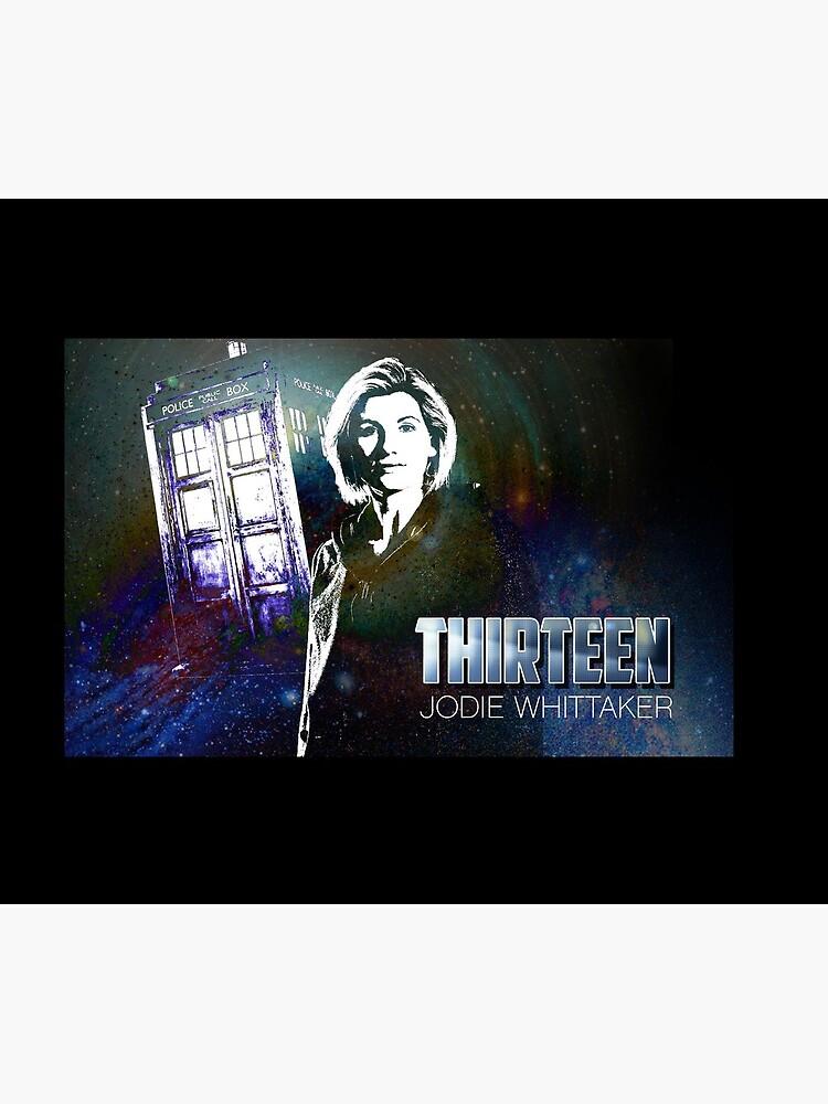 13. Doktor - Jodie Whittaker von nerd-girl-art
