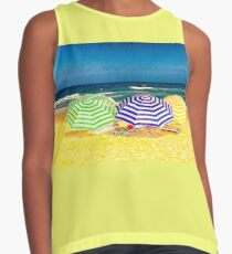 Day At The Beach Contrast Tank