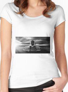 Rambling Man  Women's Fitted Scoop T-Shirt