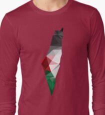Palestine Poly Long Sleeve T-Shirt