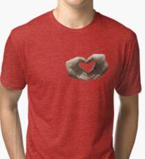 With love... (T-Shirt) Tri-blend T-Shirt