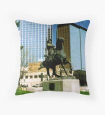 Poncho Villa! Throw Pillow
