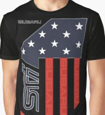 STI Flag USA Dark Graphic T-Shirt