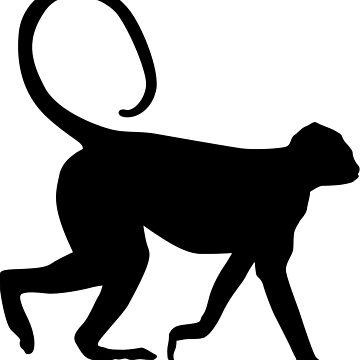wild monkey by dai-dai