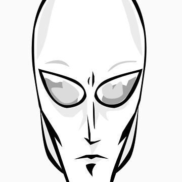 Silver Alien by muthmaniac