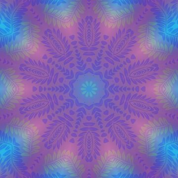 Leaf Pattern Kaleidoscope by fantasytripp