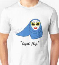 Cue Hijab Flip Unisex T-Shirt