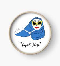 Cue Hijab Flip Clock