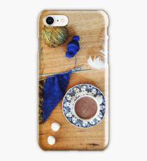 Knitting & Tea 3 iPhone Case/Skin