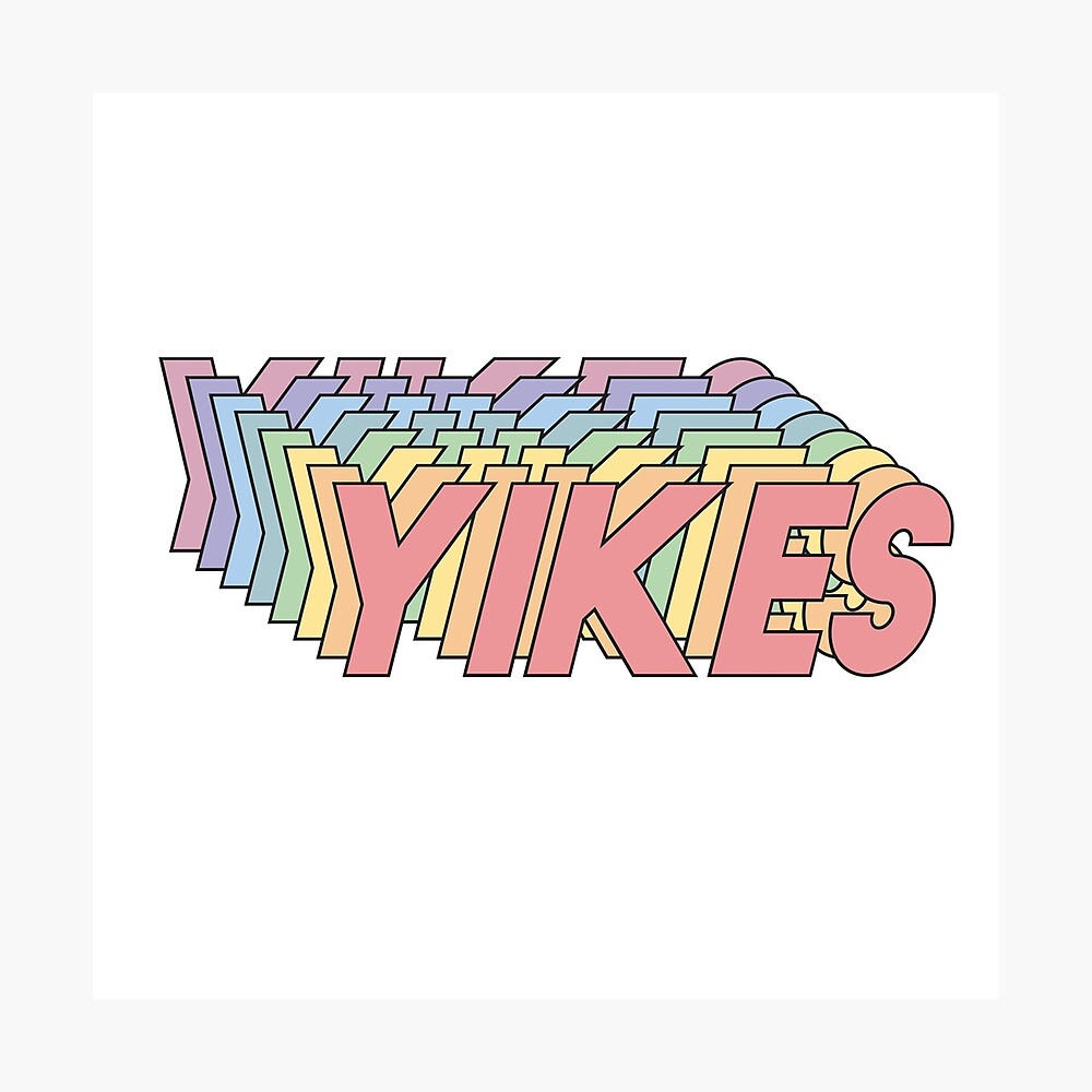 YIKES Photographic Print