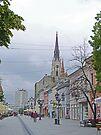 A Street in Novi Sad by Graeme  Hyde