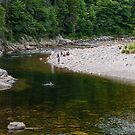Swimming in the Big Salmon River by Mark Prior