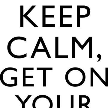 Freddie Mercury Keep Calm by BlueEyedDevil