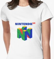 Nintendo Merchandise Womens Fitted T-Shirt