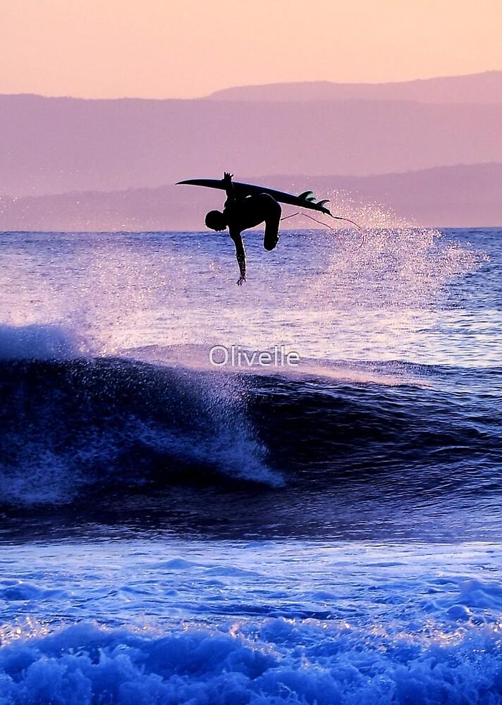 Aerial Surfer by Olivelle