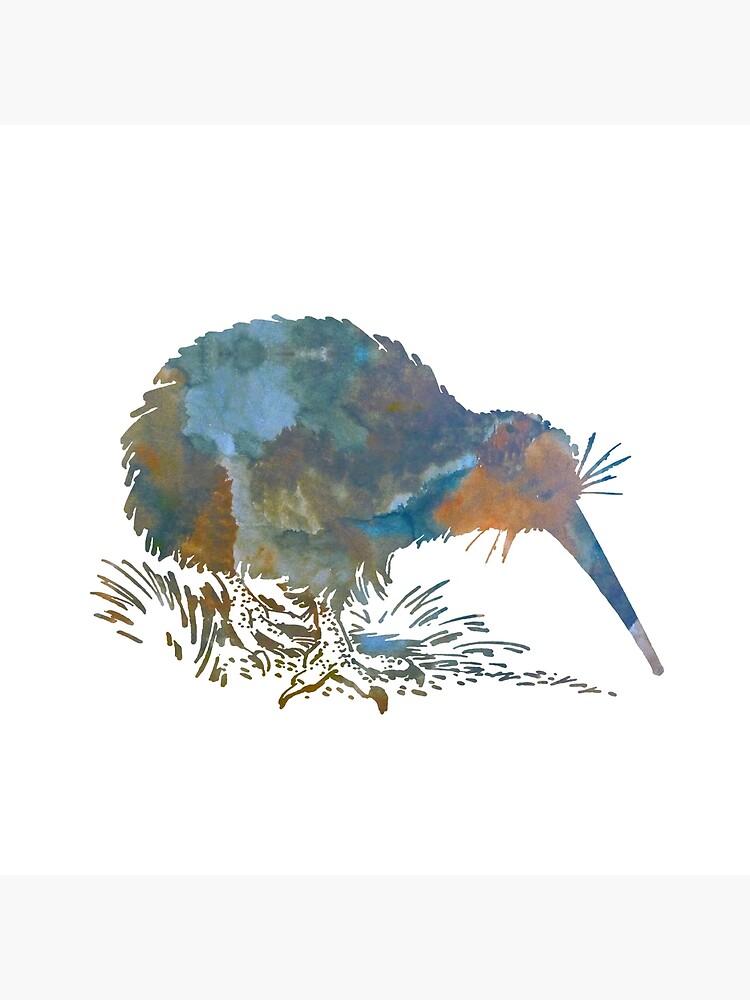 Kiwi-Vogel-Kunst von TheJollyMarten