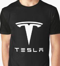 Tesla Merchandise Graphic T-Shirt