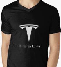 Tesla Merchandise Men's V-Neck T-Shirt