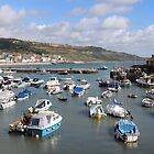 Summer Boats in Lyme by kalaryder