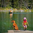 Waiting @ Chadburn Lake by Yukondick