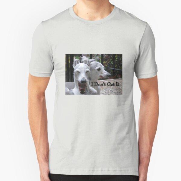 """I Don't Get It"" photo tee Slim Fit T-Shirt"