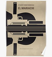 No445- El mariachi minimal movie poster Poster