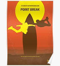 No455- Point Break minimal movie poster Poster
