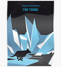 No466- The Thing minimal movie poster Poster