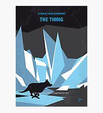 No466 - The Thing minimales Filmplakat Fotodruck