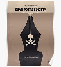 No486- Dead Poets Society minimal movie poster Poster