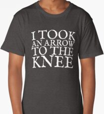 I Took an Arrow to the Knee Long T-Shirt