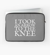 I Took an Arrow to the Knee Laptop Sleeve