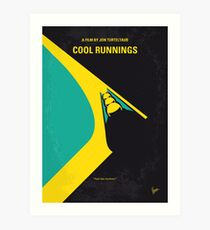 No538- COOL RUNNINGS minimales Filmplakat Kunstdruck