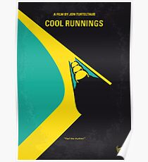 No538- COOL RUNNINGS minimal movie poster Poster