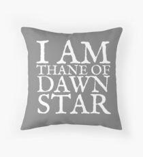 Thane of Dawnstar Throw Pillow