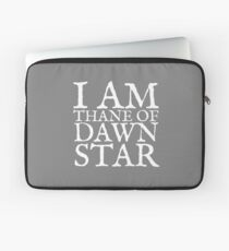 Thane of Dawnstar Laptop Sleeve