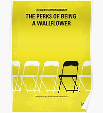 No575- Perks of Being a Wallflower minimal movie poster Poster