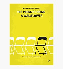Lámina fotográfica No575- Ventajas de ser un cartel de película minimalista de Wallflower