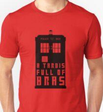 A TARDIS Full Of Bras Unisex T-Shirt