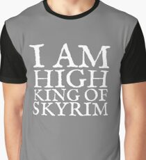 High King of Skyrim Graphic T-Shirt