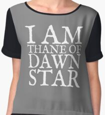 Thane of Dawnstar Women's Chiffon Top