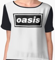 oasis Women's Chiffon Top