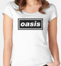 oasis Women's Fitted Scoop T-Shirt