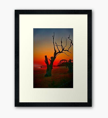 """When Morning Gilds the Skies"" Framed Print"